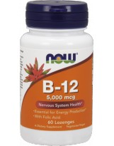 NOW FOODS B-12 5000 mcg 60 lozenges