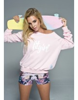 GYM HERO Bluza FitGirl Pink