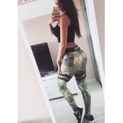 GYM HERO Legginsy Camo