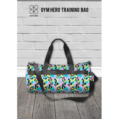 GYM HERO Torba Patches