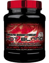SCITEC HOT BLOOD 3.0 820 grams