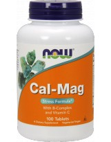 NOW Foods Cal-Mag Stress Formula - 100 tabl.