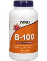 NOW FOODS B-100 250 vcaps.
