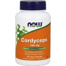 NOW FOODS Cordyceps 750mg 90 kaps.