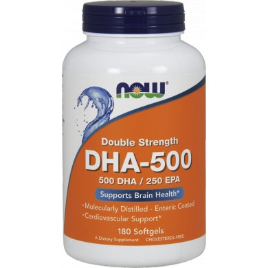 NOW FOODS DHA-500 / EPA 250 180 kaps.