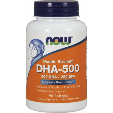 NOW FOODS DHA-500 / EPA 250 90 kaps.