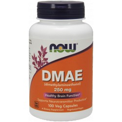 NOW FOODS DMAE 250mg 100 weg.kaps.