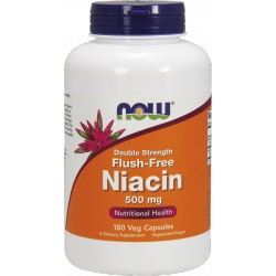 NOW FOODS Niacin 500 mg 180 vcaps.