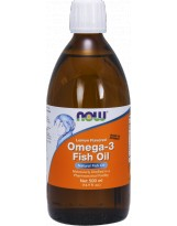 NOW FOODS Omega-3 Fish Oil Liquid 500ml