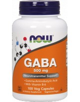 NOW FOODS GABA 500 mg 100 kaps.