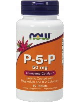 NOW FOODS P-5-P 50mg 60 tabl.