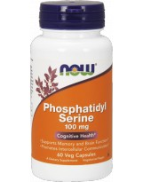 NOW FOODS Phosphatidyl Serine 100mg 60 vcaps.