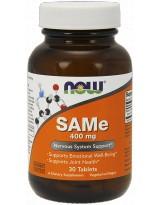 NOW FOODS SAMe 400 mg 30 tabl.