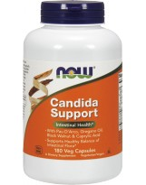 NOW Foods Candida Support - 180 kaps.