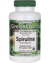 SWANSON Spirulina 500 mg 180 tabl.