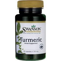 SWANSON Turmeric 720 mg 30 kaps.