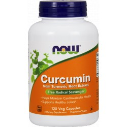 NOW FOODS Curcumin 120 vcaps.