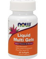 NOW FOODS Liquid Multi Gels 60 softgels