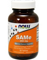 NOW FOODS SAM-e 200 mg 30 tabl.