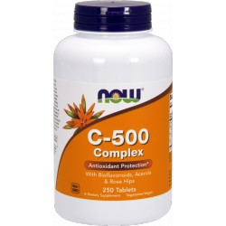 NOW FOODS Witamina C-500 Complex 250 tabl.