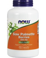 NOW FOODS Saw Palmetto Berries 550mg 250 kaps.