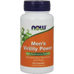 NOW Foods Men's Virility Power 60 kaps.