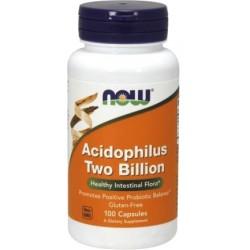 NOW FOODS Acidophilus 2 Billion 100 kaps.