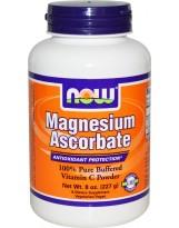 NOW FOODS Magnesium Ascorbate 227g