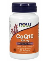 NOW FOODS Koenzym Q10 100 mg 50 gels.