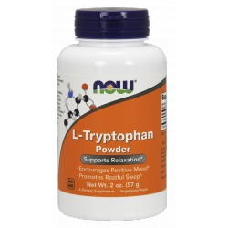 NOW FOODS L-Tryptofan Powder 57g