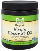NOW FOODS Virgin Coconut Oil Organic 585 ml.