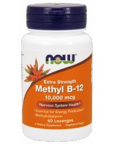 NOW FOODS B-12 Methyl 10000mcg 60 lozenges