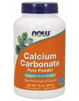 NOW FOODS Calcium Carbonate Powder 340 g