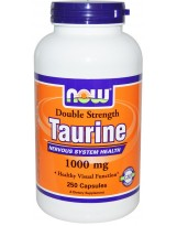 NOW FOODS Tauryna 1000 mg 250 vcaps.