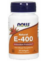 NOW FOODS Witamina E-400 Mix Tocopherol 50 kaps.