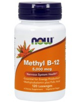 NOW FOOD B-12 Methyl 5000 mcg 120 lozenges
