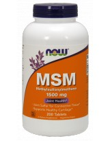 NOW FOODS MSM 1500 mg 200 tabl.