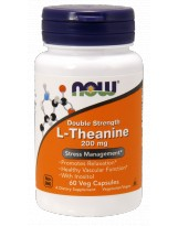 NOW FOODS L-Theanine 200mg Inositol 60 vcaps.