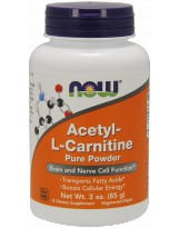 NOW FOODS Acetyl L-Carnitine Powder 85g