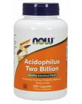 NOW FOODS Acidophilus 2 Billion 250 kaps.