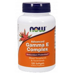 NOW FOODS Advanced Gamma E Complex 120 gels