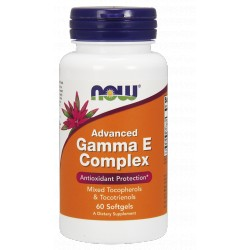 NOW FOODS Advanced Gamma E Complex 60 gels