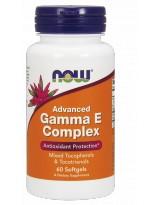 NOW FOODS Advanced Gamma E Complex 60 gels