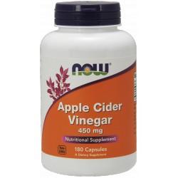 NOW FOODS Apple Cider Vinegar 450 mg 180 kaps.