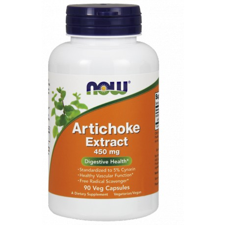 NOW FOODS Atrichoke Extract 450mg 90 vcaps.