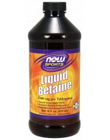 NOW FOODS Betaine Liquid 473 ml. (data 04/2018)