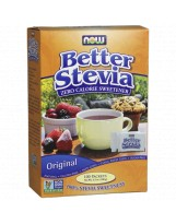 NOW FOODS Better Stevia Original 100 sasz.