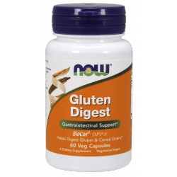NOW FOODS Gluten Digest 60 vcaps.
