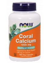 NOW FOODS Coral Calcium 1000 mg 100 vcaps.
