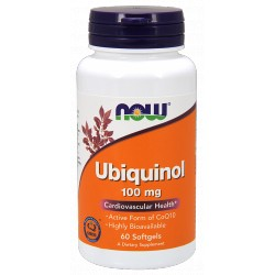 NOW FOODS Ubiquinol 100mg 60 gels.